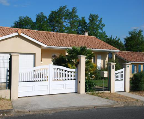 Portails PVC Fenestra