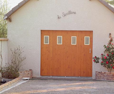 Portes coulissantes Janibel Bois ou PVC