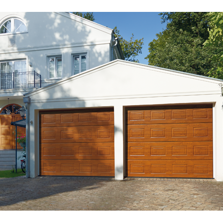 Portes de garage sectionnelles h rmann val d 39 oise 95 for Porte de garage 5m hormann